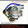 Kit Turbo Universal RHF5 for ISUZU