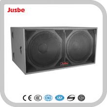 S218 1200W Dual 18-inch Professional Passive Subwoofer / Loudspeaker/Speaker/ Audio Player