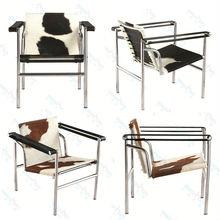 LC1 Chair Cowhide / Leisure Chair/ Dining Chair