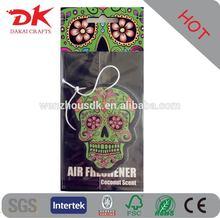 The lasting scent of car vent air freshener,flower shape air freshener