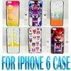 Fahion cute animal phone case tiger owl painting hard case for iphone 6 back cover case 4.7 inch