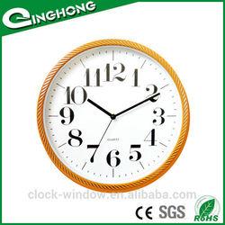 Square wall clock retro flip wall clock
