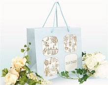 promotional luxury shopping paper bag,luxury paper shopping bag printing
