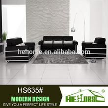 HS635# used luxury sofa sets saudi arabia genuine leather u shaped sectional sofa