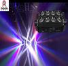 dj led light bar 8x10w plain white or rgbw moving beam led spider