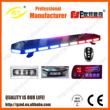 New RC 1/36 scale police colorful led light bar kit with headlights