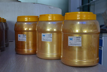Golden color pigments mica titanium pearl pigment