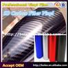 NEW ARRIVAL!!! Factory offer 5D carbon fiber film/5D carbon fiber vinyl car wrap vinly