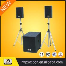 dual 18 speaker box professional dj audio loudspeaker