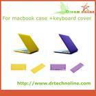 11 Color Matt Rubberized Hard Case Keyboard Cover for macbook case wholesale
