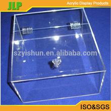 Alta qualidade caixa de acrílico, acrílico distribuidor de doces caixa