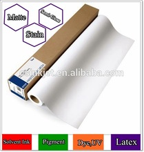 Manufacturer Supply! Inkjet Oil Canvas ROLL 210gsm Water-Proof Polyester Materials