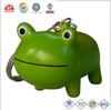custom make plastic 3D animal frog keychain