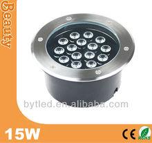 15W IP67 waterproof led underground paving light 90-265V AC 24V DC