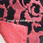 Fancy Jacquard in Rose pattern wool fabric for garments
