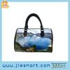 barrel bag microfiber custom bag fashion handbag