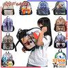BBP106S 600D polyester anime school bags and backpacks children animal backpack