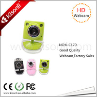 Promotion Gift 2.0USB Webcam Camera for PC/Desktop Computer with High Definition