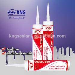 COJSIL-039 Quick Drying silicone Sealant Glazing selante de silicone ge