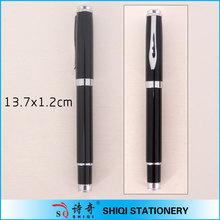 high quality luxury gold fountain pen black metal pen