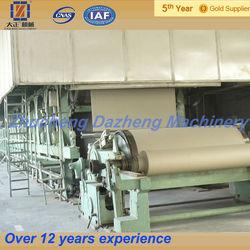 2014 new type 60-80 T / D kraft paper mill machinery