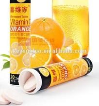 VC effervescent drink tablet,vitamin c tablet,guarana energy effervescent tablet