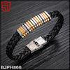 Wholesale Newest Design Stainless Steel Women Leather Bracelet
