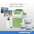Fuji frontier DX100 papel fotográfico para minilab seco lab 12.7 cm 15.2 cm 20.3 cm 30.5 cm x 65 m