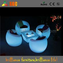LED furniture led table/ led table furniture lighting