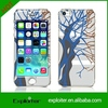 New arrival design cheapest cell phone sticker for apple iphone 6 sticker cover