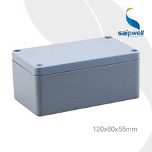 SAIP High Quality IP67 Aluminium Junction Box 120*80*55mm