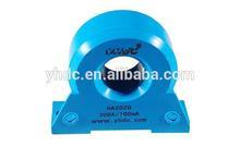 plate mount AC/DC/Pulse measuring hall effect current sensor