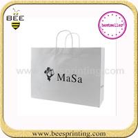 Elegant Flower Every Day Gift Packing Paper Bag , foldable shopping bag