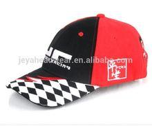 Kariert visor embroider logo baseball cap novely washed men winter hat for promotion