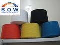 Chine fabricant de fils de coton régénéré fenêtre tissu aveugles ne12/1 recyclage de fils de coton de polyester coton mélangé fils
