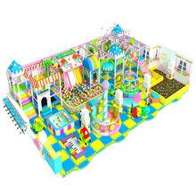 Happy Clown Indoor Playground equipment Soft indoor playground kids indoor playground
