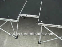 RP Cheap aluminum portabele dj stage smart stage for events