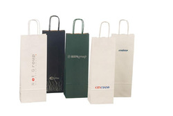 eco printed cheap recycled brown paper garbage bags manufacturer in china