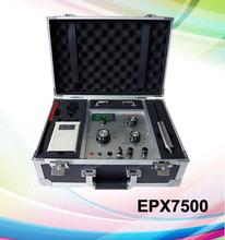 Yeni ürün uzun menzilli yeraltı metal detektörü epx7500, profesyonel elmas avcı