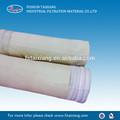 Nomex filtro de bolsa para zinc plomo sinterización de la cola de la máquina cubierta del pote