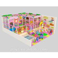 sweet house indoor playground equipment, children soft indoor playground, multi-funtion cover playground