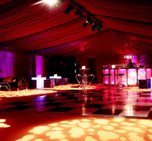 wedding and events used portable wood dance floor