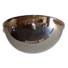 Alibaba Website 180 Degree View Unbreakable Polycarbonate Plastic Half Mirror Ball