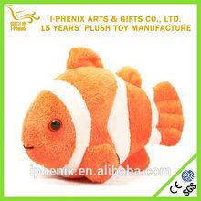 2014 Hot Sale Adorable Tropical Fish Nemo Stuffed Plush Toy Wholesale
