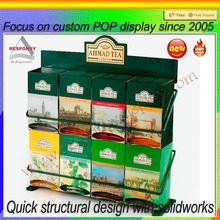 Counter Top tea display - Mini Display metal stand for tea case