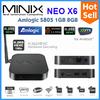 2014 best selling products android tv box MINIX NEO X6 Amlogic S805 Quad Core XBMC RJ45 smart tv box free sexy movies