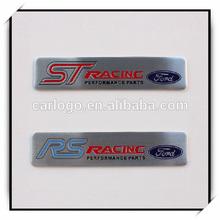 metal tag, small aluminum plate , car accessary sign