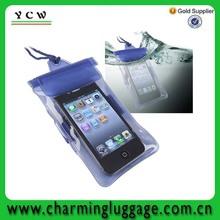 2014 Latest OEM manufacturer mobile phone waterproof bag for gift