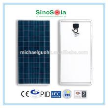 polycrystalline solar panel 300w with TUV/IEC61215/IEC61730/CEC/CE/PID