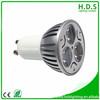 High Brightness led china 3x1w 4000-4500k 12v led bulbs